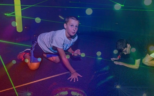 Laser Maze at Airway Fun Center