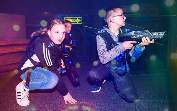 Play Laser Tag at Airway Fun Center