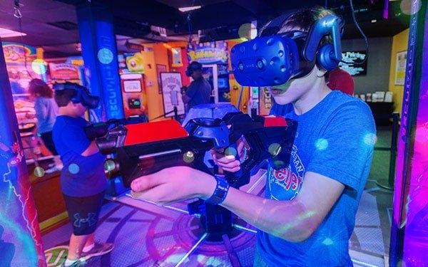 Virtual Reality at Airway Fun Center